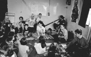 sesi latihan bersama kanak-kanak| photo credit: Ismail Othman