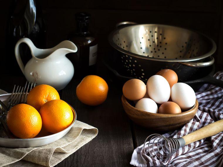 Arance e uova