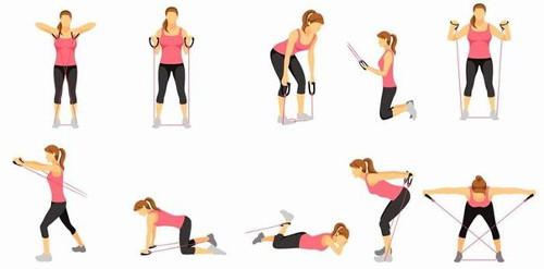 эффективные упражнения чтобы убрать жир со спины