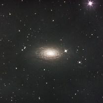 M63 ひまわり銀河 りょうけん座 Photo Y.Tomiyama 撮影地 糸島市 撮影日 2021.05.06