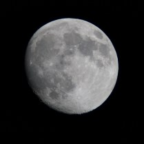 月齢12.4 Photo M.Hayashi 撮影地 糸島市 撮影日 2021.05.24