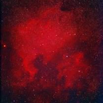 北アメリカ・ペリカン星雲 Photo Y.Tomiyama 撮影地 糸島市 撮影日 2021.08.29
