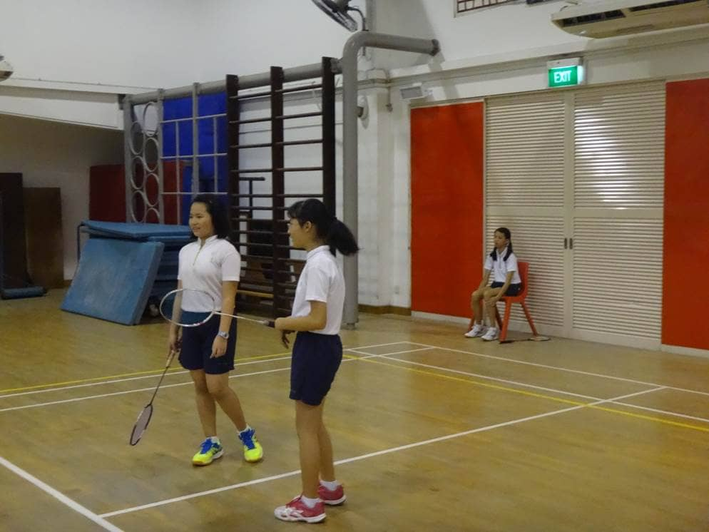 Badminton  Poi Ching School