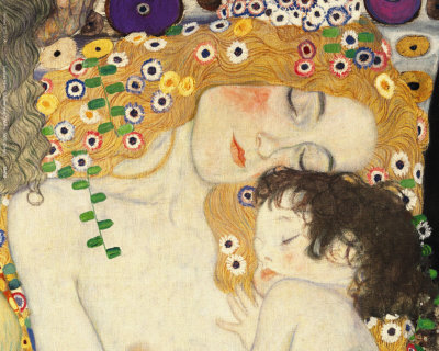 mother-and-child-detail-from-the-three-ages-of-woman-c-1905-gustave-klimt1