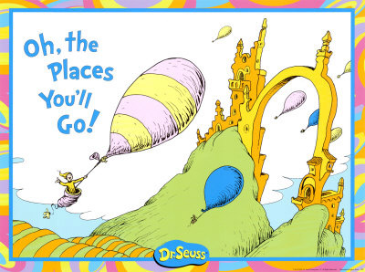 Dr Seuss Oh The Places Youll Go