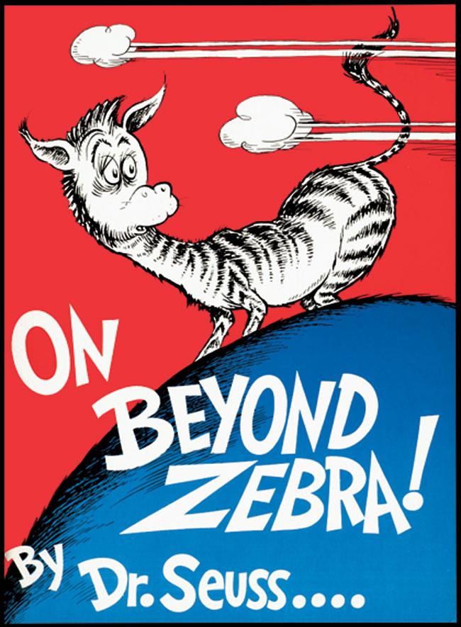 Dr Seuss On Beyond Zebra