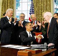 Obama signing GBLT memo