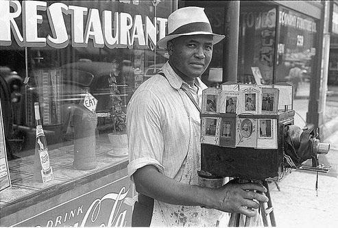 Itenerand photographer in Columbus OH by Ben Shahn 1938