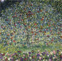 """""""Apple Tree, I"""" (1912, oil on canvas)by Gustav Klimt"""