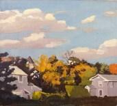 """""""Autumn 2"""" (1967)by Fairfield Porter"""