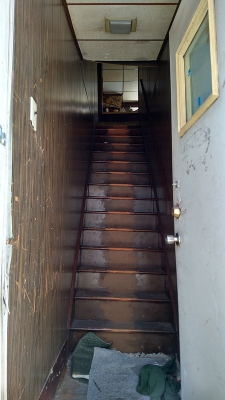 Second Floor Apartment | Outside Stairs To Second Floor | Steel | Entrance | Staircase | Patio | Deck