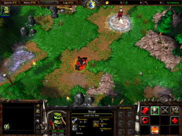 Warcraft III: Reign of Chaos Screenshot (Fair Use, WikiMedia)