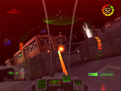 Screenshot Showing Enemies and the HUD