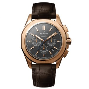 KADRA CHRONOGRAPH – Anthracite / Brown