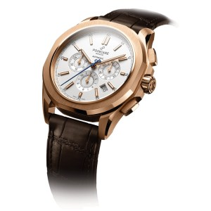 KADRA CHRONOGRAPH – White / Brown