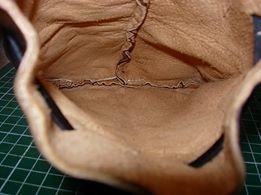 patron pochette escarcelle cuir bourse moyen âge medieval reconstitution maroquinerie