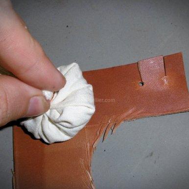 Fabriquer un baluchon pour teinture ou encaustique
