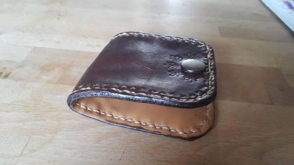 Manon porte monnaie classique cuir - point-sellier.com