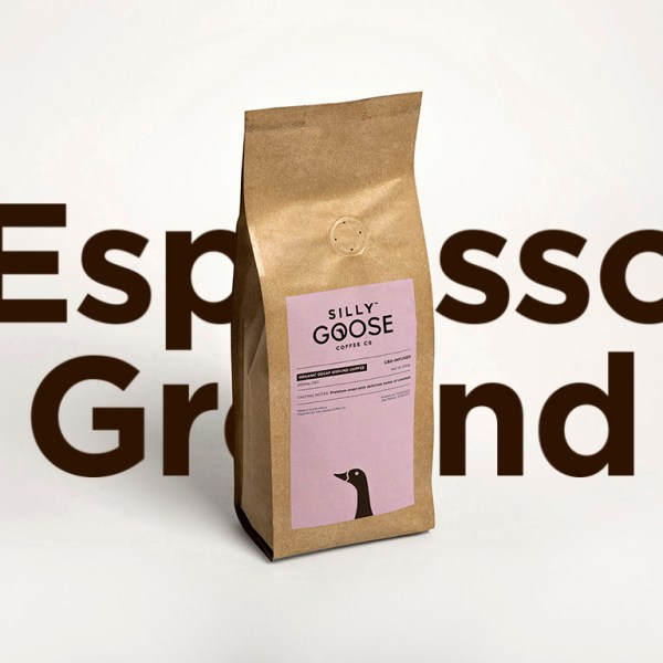 Silly Goose Decaf, ground coffee