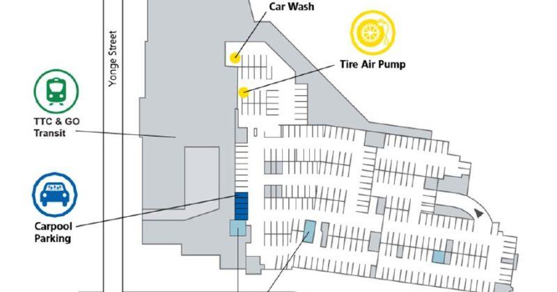 York Mills Centre map