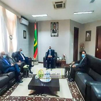 le-ministre-des-affaires-etrangeres-mauritanien-s-entretient-avec-son-homologue-de-sahraoui