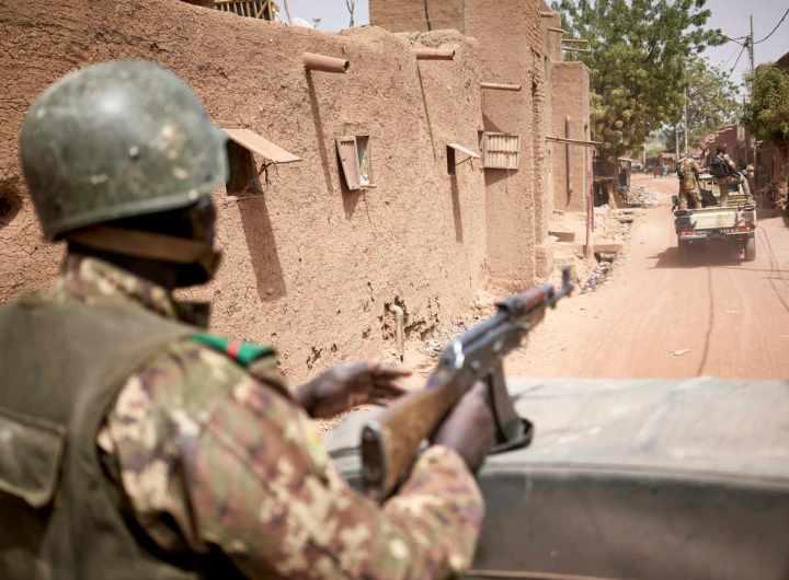 Forces de sécurité au Sahel