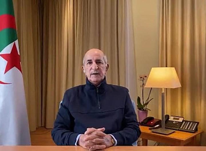 Algérie dissolution du parlement
