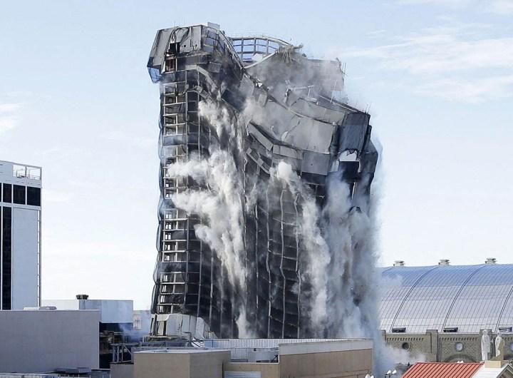 Le casino de Trump démoli à Atlantic City
