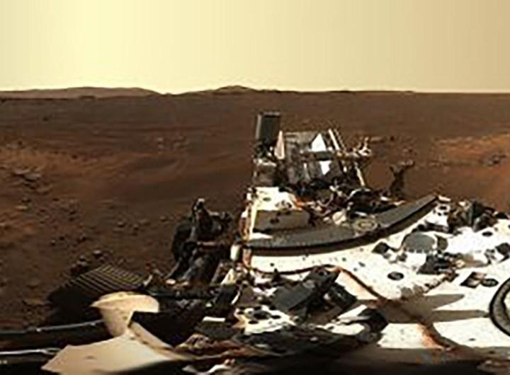 Une Photo spectaculaire de Mars par Persévérance