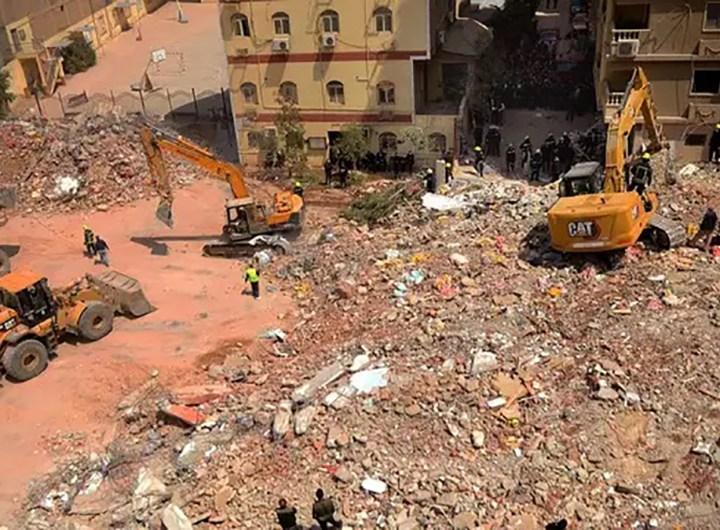 Egypte : 18 morts dans l'effondrement d'un immeuble au Caire
