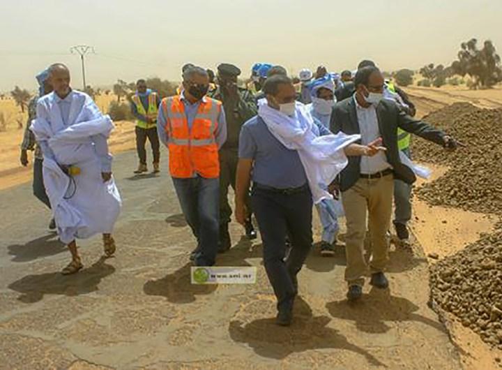 Etat d'avancement des travaux routiers Nouakchott-Boutilimit et Boutilimit-Aleg