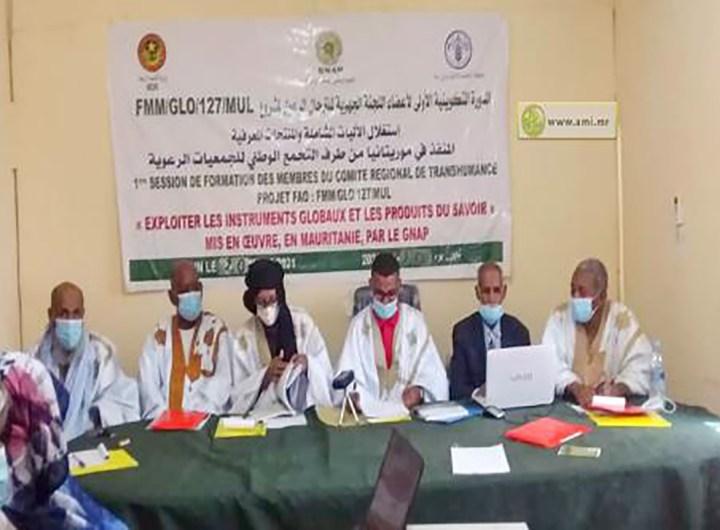 Formation des membres de la commission régionale de la transhumance pastorale