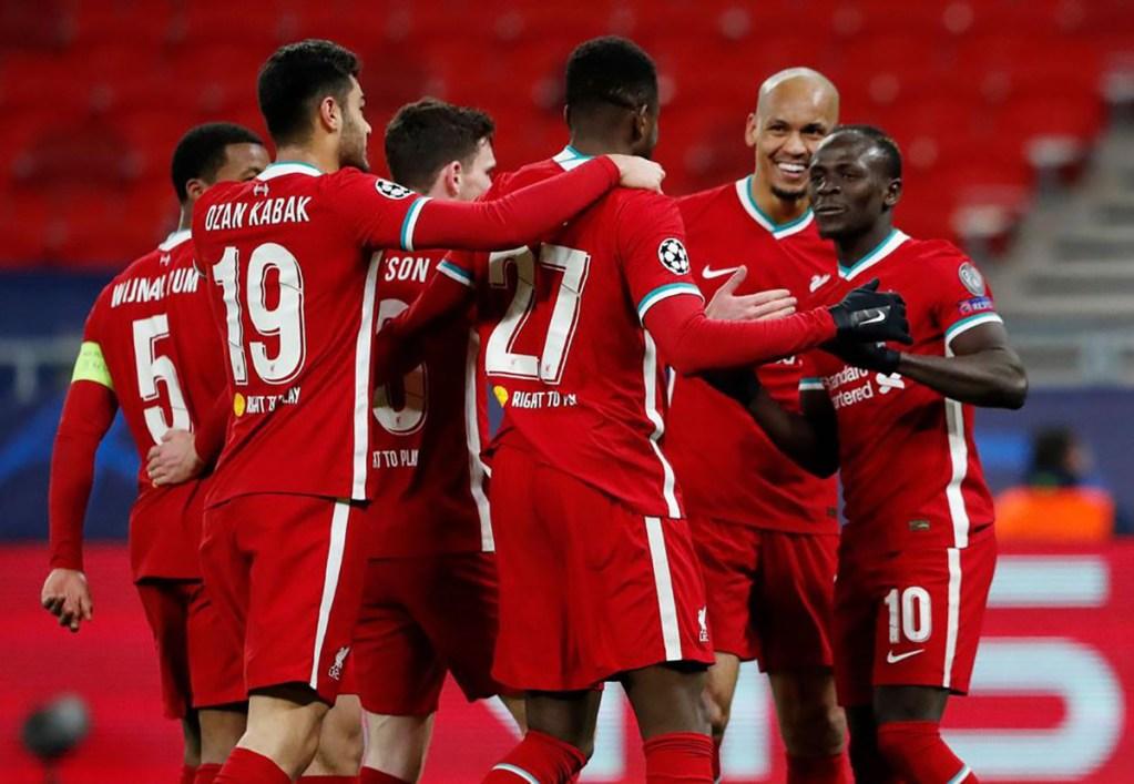 Liverpool assure contre Leipzig