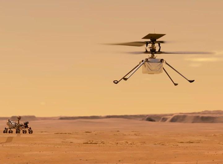Première tentative de vol d'un hélicoptère sur Mars début avril, annonce la Nasa