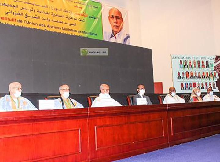 Congrès constitutif de l'union des anciens ministres de Mauritanie