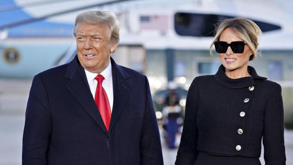 Covid-19 Donald Trump et Melania se sont vaccinés discrètement en Janvier