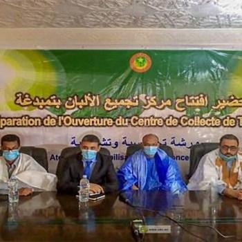 Hodh Echarghi ouverture d'un centre de collecte de produits laitiers à Timbédra