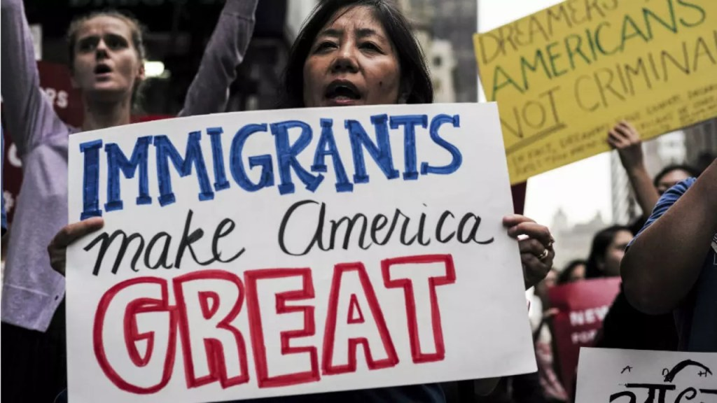 les démocrates votent pour la régularisation des dreamers