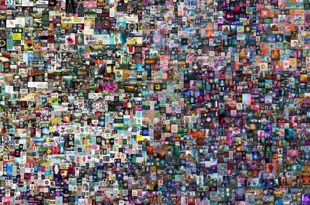 Record pour une oeuvre d'art numérique vendue 69 millions de dollars