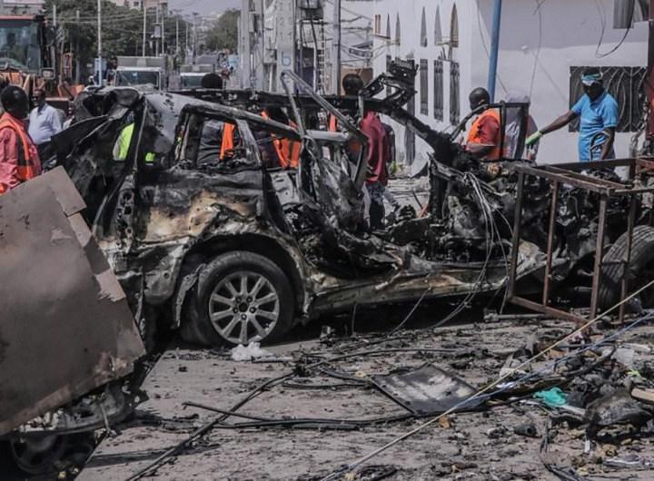 Somalie au moins 10 morts après l'explosion d'un véhicule à Mogadiscio