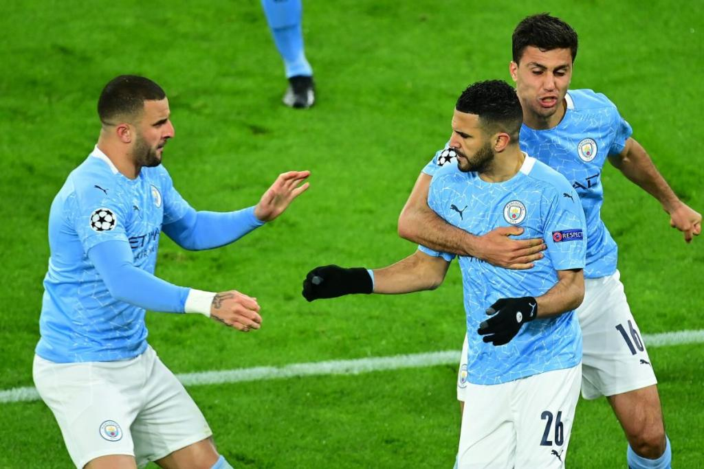 C1: Manchester City rejoint Paris et le Real Madrid Chelsea