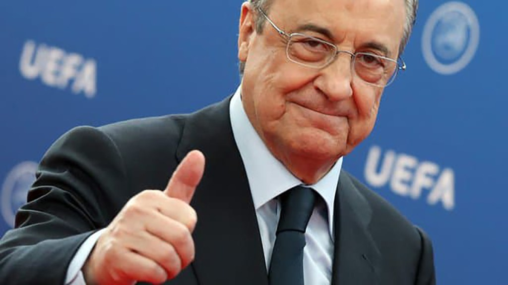 "Florentino Pérez défend sa Super League qui va ""sauver le football"""