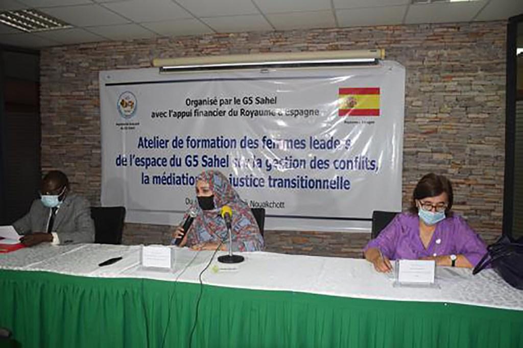 G5 Sahel: Renforcement des capacités des femmes leaders sur la gestion des conflits