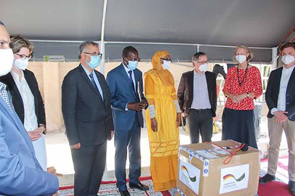 Don de tests PCR et antigéniques de l'Allemagne à la Mauritanie