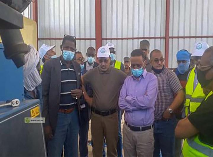 Mise en service d'une centrale électrique de 3MW à Béninaji
