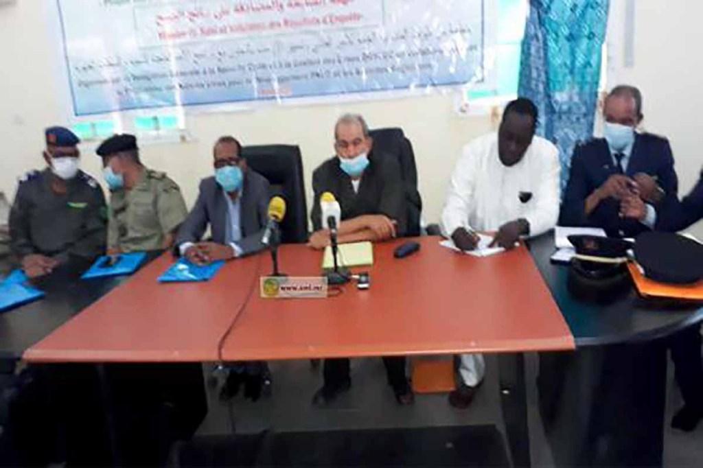 Réunion sur la protection civile et la gestion des crises à Kaédi