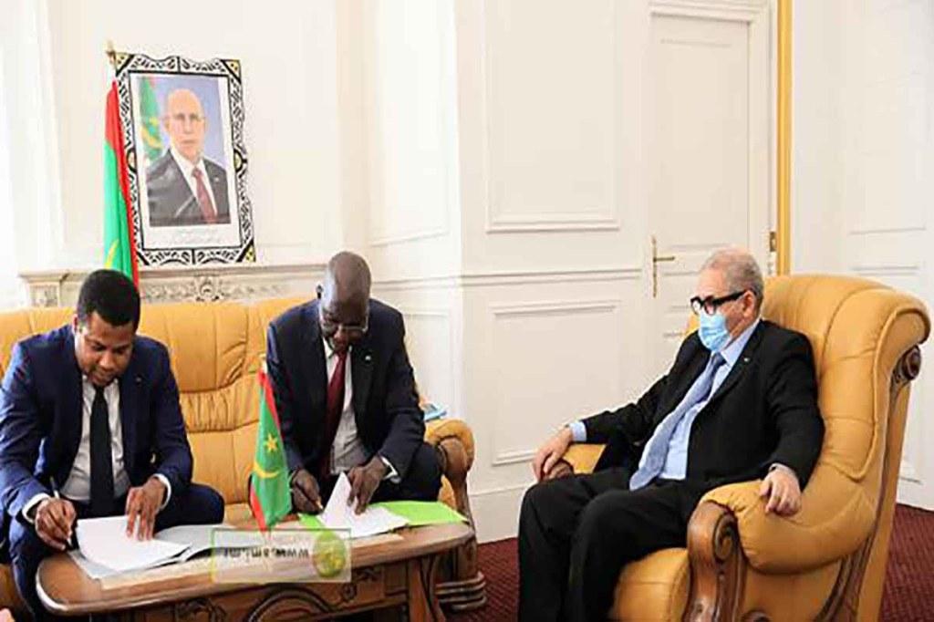 Accord de projets de développement urbains pour la ville de Nouakchott
