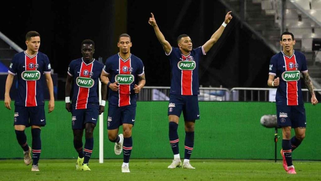 Le PSG remporte la Coupe de France face à Monaco