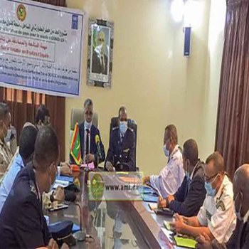 Nouadhibou: réunion de la commission régionale de gestion des crises