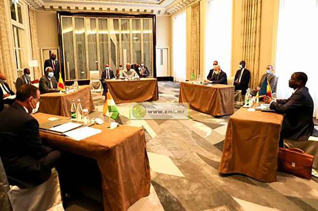 Réunion des Présidents du G5 Sahel à Paris